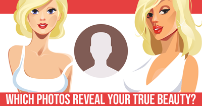 Which Photos Reveal your True Beauty?