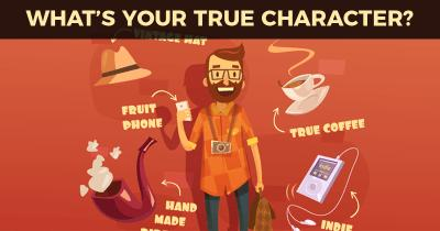 WHAT'S YOUR TRUE CHARACTER?