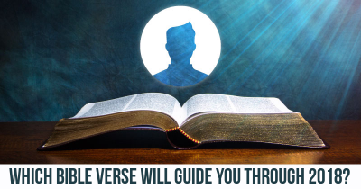 Which Bible Verse will guide you through 2018?