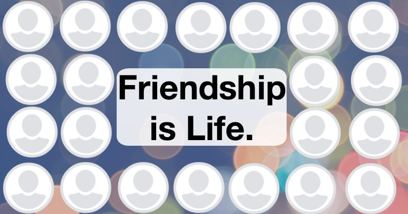 Create your friendship collage with 21 friends.