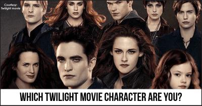 Which Twilight movie Character are you?