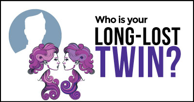 Who is your long-lost Twin?
