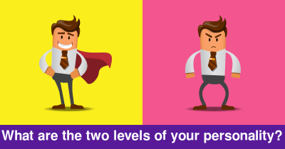 What are the two levels of your personality?
