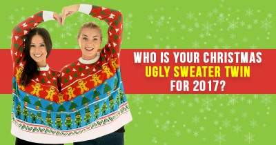 Who is your Christmas Ugly Sweater Twin for 2017?