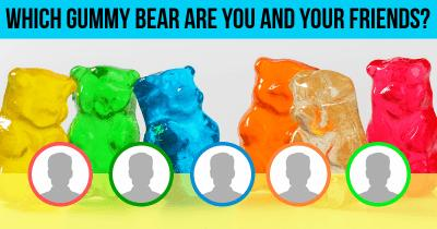 Which Gummy Bear are You and Your Friends?