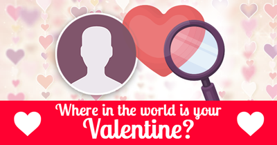 Where In The World Is Your Valentine?