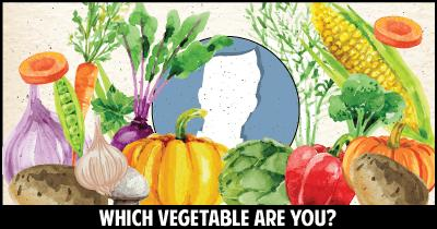 Which Vegetable are you?
