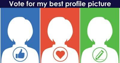 Vote for my best profile picture.