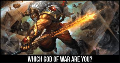 Which God of war are you?