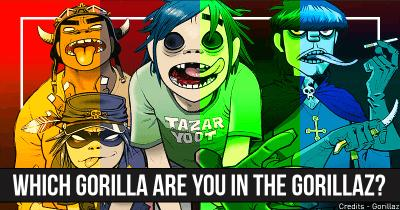 Which Gorilla are You in the Gorillaz?