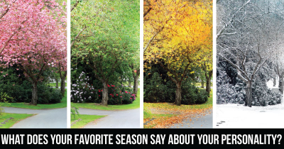 What does your Favorite Season say about your Personality?
