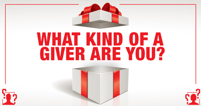 What Kind of a Giver are You?