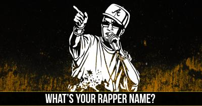 What's your Rapper Name?