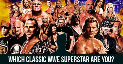 Which classic WWE superstar are you?