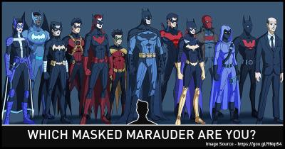 Which Masked Marauder are you?