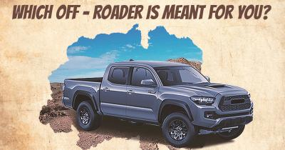 Which Off - roader is meant for you?