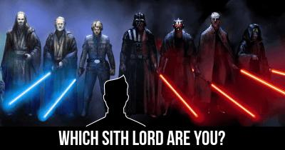 Which Sith Lord are you?