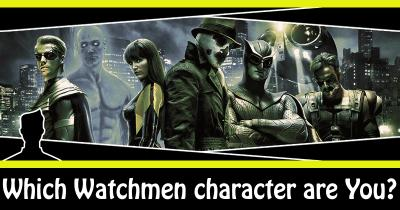 Which Watchmen character are You?