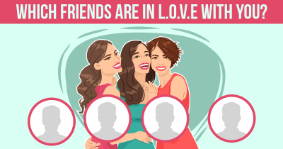 Which Friends are in L.O.V.E with you?