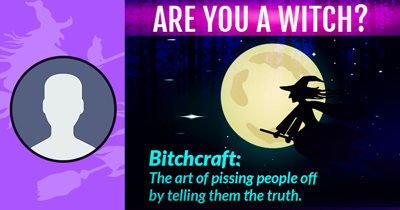 Are you a Witch?