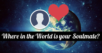 Where in the World is your Soulmate?