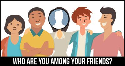 Who are you among your Friends?
