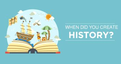 When did you create History?