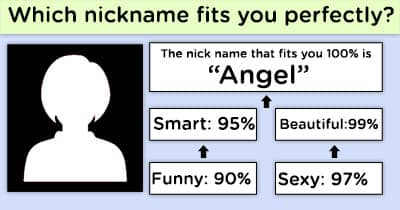Which nickname fits you perfectly?