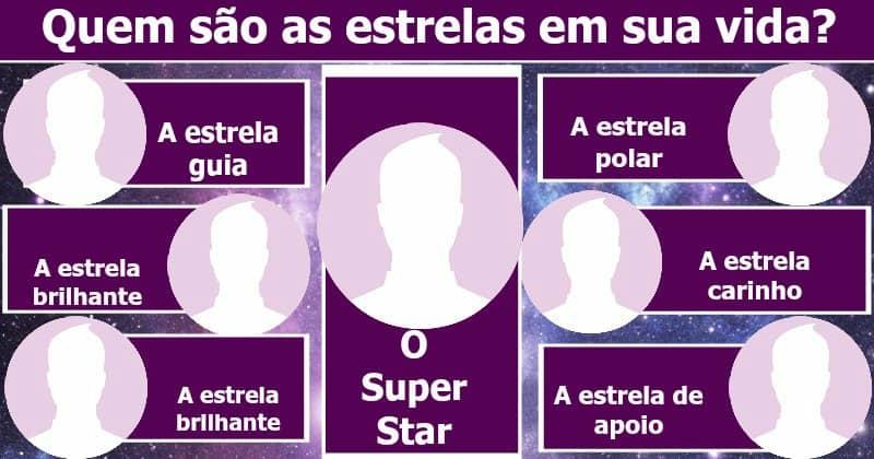 Quem são as estrelas em sua vida?