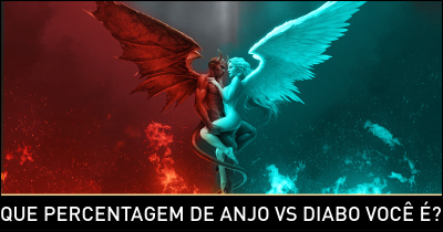 Que percentagem Angel vs Devil estão?