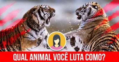 Qual Animal você luta como?