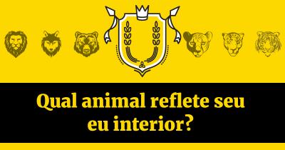 Qual animal reflete seu eu interior?