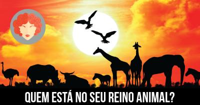 Quem está no seu Reino Animal?