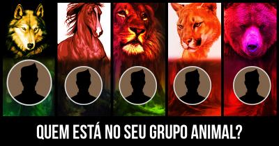 Quem está no seu Grupo Animal?