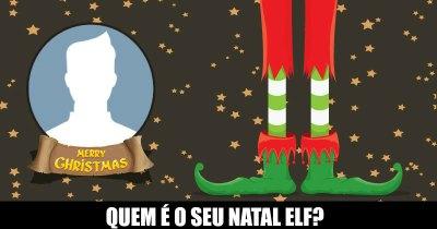 Quem é o seu Natal Elf?