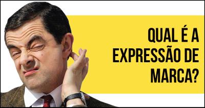 Qual é a expressão de marca?