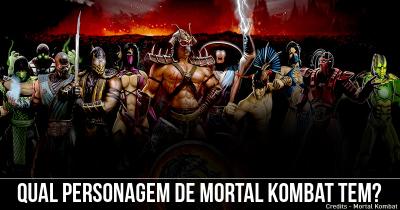 Qual personagem de Mortal Kombat tem?