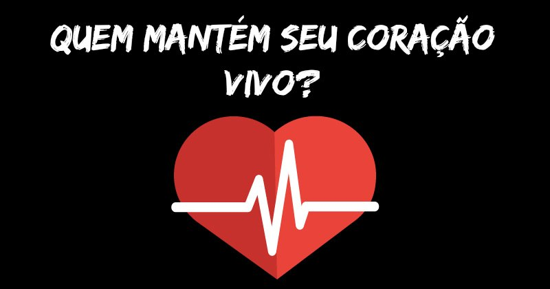 Quem mantém seu coração vivo?