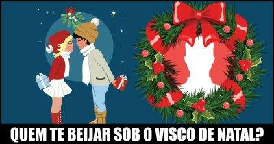Quem te beijar sob o visco de Natal?
