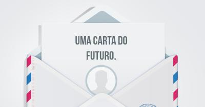 Uma carta do futuro.