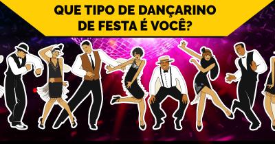 Que tipo de dançarino de festa é você?