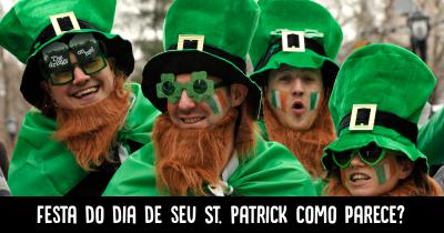 Festa do dia de seu St. Patrick como parece?