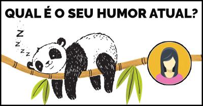Qual é o seu Humor atual?