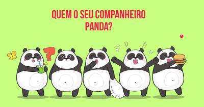 Quem o seu Companheiro Panda?