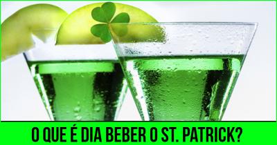 O que é dia beber o St. Patrick?