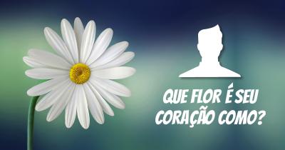 Que flor é seu coração como?