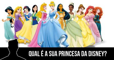 Qual é a sua Princesa da Disney?
